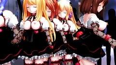 MMD Girls dance 2