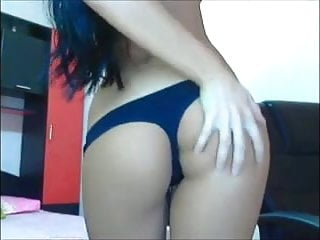 Anal bitch fucking herself Skinny bitch ass shake and fuck herself with finger in pussy