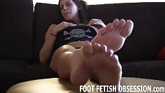 I need you to lick between each one of my toes