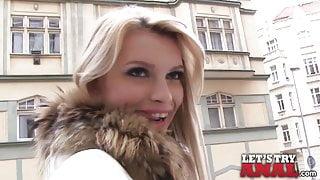 Mofos - Karina Grand  - Sexy Blonde's First Anal Pounding