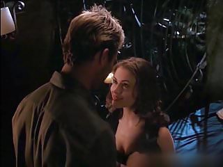 Milano alyssa naked Alyssa milano nude boobs in poison ivy 2 movie