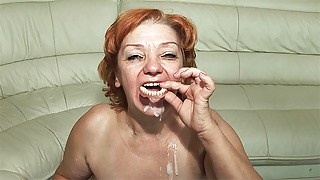 74 years old toothless stepmom fucked