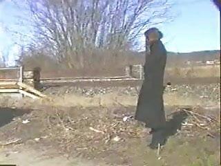 Nude train girls Aldonze bitch c nude by train tracks