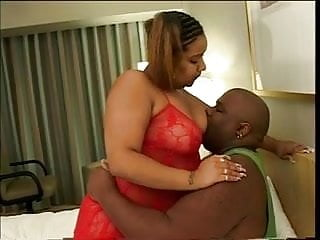 Mans head giant vagina - Big thick black girl in lingerie with giant tits loves to suck her mans dick