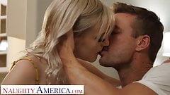 Naughty America - Jamie Jett stops by her professor's house