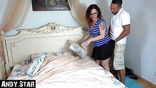 Fucked in grandma's bedroom