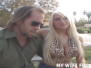 I want to fuck my wife I want to fuck a male pornstar while you watch, honey
