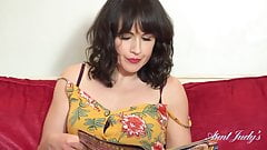 she masturbates after reading porn