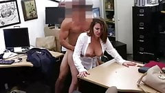 erotic PAWG Doggystyle Office suck