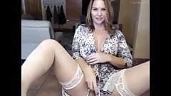 GORGEOUS Russian MILF Gets Nasty on Webcam