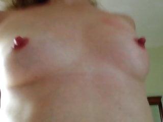 Hard nips sucked - Wifes hard nips