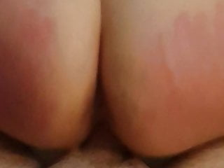 Bare spanked male video Real british milf rides bare cock in hotel like a good slut