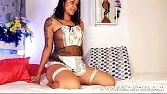Cute Sexy Latina Teen Shaking Her Beautiful Ass And Fucking