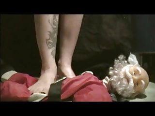 Adult santa clause humor animated Babbo natale crush - santa clause crush