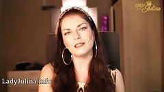 Domina Lady Julina Wichssklaven Test JOI Orgasmus Kontrolle