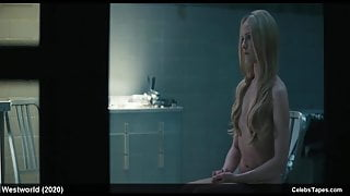 Evan Rachel Wood naked and sexy in westworld