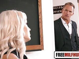 Mom wants big cock - Hot blonde teacher wants principle big cock by freemilfhub