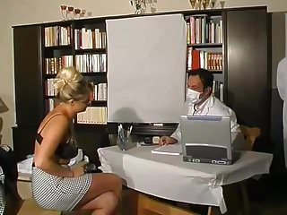 Fun with sexy japanese doctor - Blonde doctor fun
