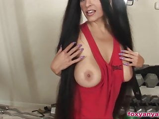 Foxy wives fucking stories Foxy anya face fucked and facialed