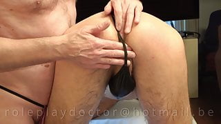 Massage In G-String