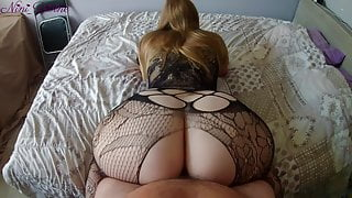Cum inside my stepsister and keep fucking her big ass!