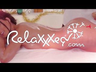 Man getting sexy massage videos - Letsdoeit - sexy blonde cherry kiss gets oily massage fuck