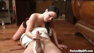 Loni Evans - Hot Fishnet Babe Pussy Licked
