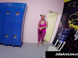 Famous cartoon fucking - The most famous milf julia ann fucked by young gym cock
