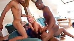 Bibi Fox - Black Pipe Layers Gangbang (MMMF IR DP)