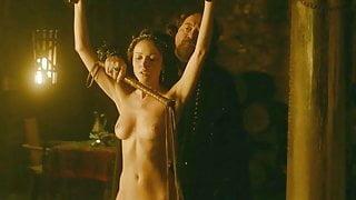 Karen Hassan Nude Scene from 'Vikings' On ScandalPlanet.Com