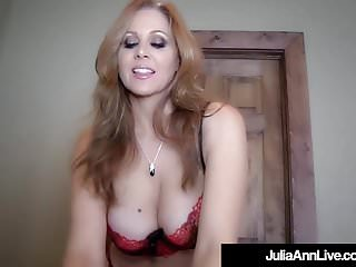 Ann curry boob pic Big boobed milf julia ann is jizzed in her gorgeous mouth