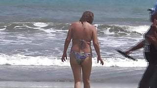 MY WIFE ON THE BEACH, FUCKING, SUCKING, MASTURBATING, EXHIBITIONISM