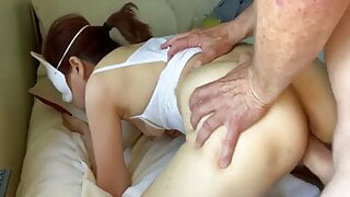 38 min of good sucking and fucking with my Korean milf with cim
