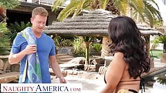 Naughty America - Ava Addams fucks her son's friend