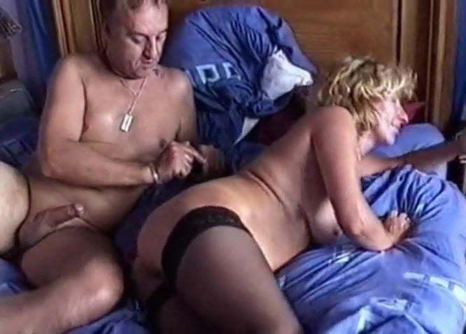 Black Couple Making Love