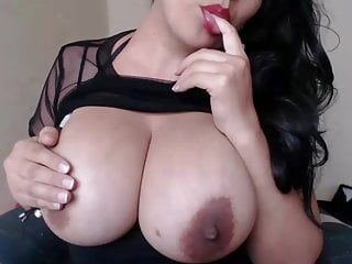 Adult colombia escort Beautiful colombia plays with her huge milking tits