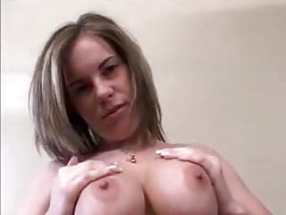 Big titty girl getting titty fucked Busty girl gets her tits fucked and cummed on