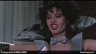 Geena Davis & Ksenia Prohaska sexy and striptease scenes