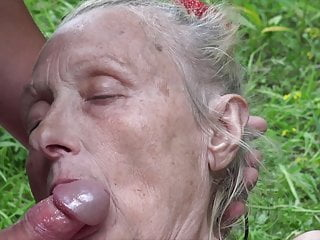 Young nudist youth - Granny seduced by young nudist