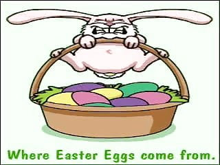 Cartoon lesbian vintage - Vintage cartoon...where do easter eggs come from