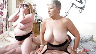 AgedLovE, Busty British Matures Have Hard Group Sex