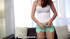 Hd CastingCouch-X - Ashley Adams пробует первую порно съемку