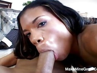 Horny ebony threesome anal penetration Hot ebony had a good threesome