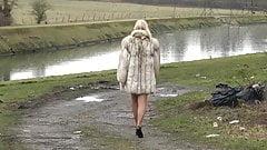 Walking in fox fur 3