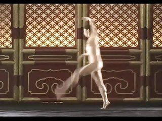 Young nude chinese Tang jia li nude dance