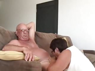 New granny blow jobs - Wife giving husband a blow hand job