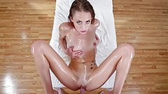 LUBED – Various Girls Love Oiled Down Messy Fucking