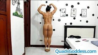 Female Muscle Nude Flex