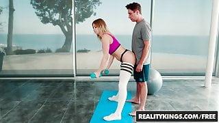 Reality Kings - Monster Curves - Pilates - Giselle Palmer Br