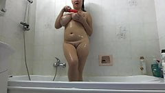 Hevnlyboobs Shower Solo